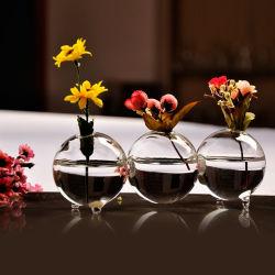 مبتكر [كنجويند] إناء زهر مستديرة زجاجيّة لأنّ بيتيّ [ويدينغ] مكسب زخرفة