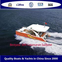Bestyear 30ft Open Catamaran Sail Motor Boat