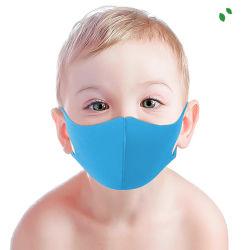 Luckymanの品質子供のための通気性の3Dデザイン多彩で再使用可能なスポンジの顔マスク