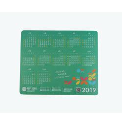 Impressão personalizada 2021 Mouse pad de espuma de PVC do Calendário