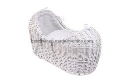 Witte Wilg Mozes Baskets met de Tribune van de Schommeling voor Baby