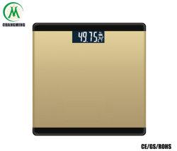 Elektronische Körperfett-Schuppe mit freier Hintergrundbeleuchtung LCD-Bildschirmanzeige