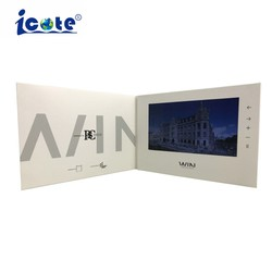 """LCD de 10,1"""" Catálogo de endereços com capa dura de vídeo"""