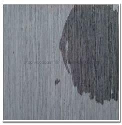 Высокая стойкость цвета серый дуб Гри Platinum изготовлены из шпона Chapa Fineline Ayous Precompuestas шпона с базы