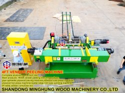 Linea di produzione dell'impiallacciatura del compensato tornio di legno della sbucciatura