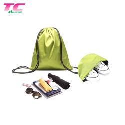 無料デザインポリエステルドローストリングバッグエコフレンドリーバックパックドロウストリングバッグ