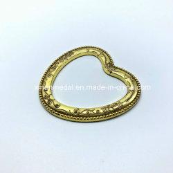 Имитация золота Heart-Shaped Металлические мини-Photo Frame украшения
