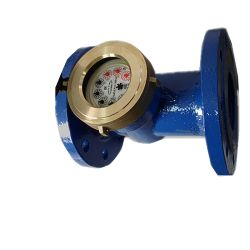 La norme ISO4064 Classb Iron Body Woltmann / Industriel Compteur d'eau à bride