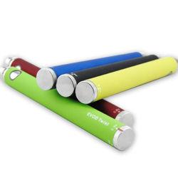 Verwarmt de In het groot Elektronische Sigaret van de fabriek de Draai Evod van de Batterij 1100mAh voor de Patroon van de Olie voor Cbd