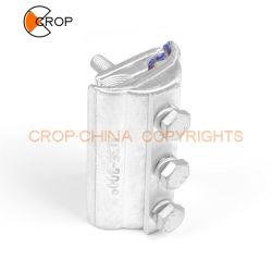 Cable de energía eléctrica de aluminio de cobre Accesorios Pg bimetálica ranura conector paralelo de la abrazadera