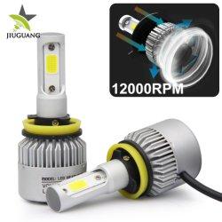 Оптовая торговля три стороны Суперяркий 6500K 8000лм H7 9005 9012 9006 H10, H8, H11 Автомобильный СВЕТОДИОДНЫЙ ИНДИКАТОР лампы фар H7