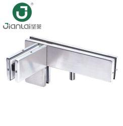 Porte en verre les raccords sur le panneau de raccordement connecteur latéral avec le rorqual commun