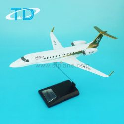 Шкала 1/100 650 Legency частном самолете плоскости модели