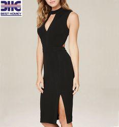 OEM noir occasionnel sexy robe de soirée Club lady de l'été le meilleur parti d'adieu robe de vêtements pour femmes