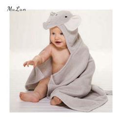 Heißer Verkauf Tier Fleece Baby Badetuch 100% Baumwolle Kapuzen Baby Handtuch, Baby Kapuzen Decke