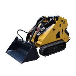 diesel 25HP che guida il mini escavatore a cucchiaia rovescia del caricatore di escavatore del manzo di pattino del cingolo