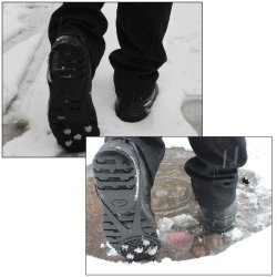 5 /10 Dentes elásticos de grampos pico de neve antiderrapagem Universal Travas de gelo equipamento para inicializar as garras de pranchas Curta Travas de tracção alpinismo em neve e gelo