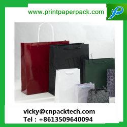 Haut de gamme de vêtements colorés de l'emballage du vêtement sac de papier cadeau Gem Bijoux Bijou Shopping sac de papier