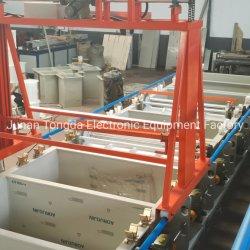 Automatic Zinc Niquelado chapado de barril de la línea de equipos para uñas