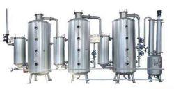 Concentrador de recicláveis inoxidável Tri-Effect para alimentos