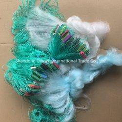 China proveedor artesanales personalizados de cangrejo de camarones marinos Peces Multifilament nylon monofilamento de hilos de poliéster de flotación de EVA y el plomo OEM platinas Driting Pesca Net