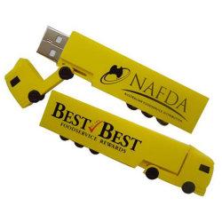 محرك أقراص USB محمول على شكل شاحنة، وUSB مخصص للشاحنات للترويج