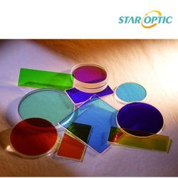 Filtre optique en verre de couleur pour la caméra et l'instrument optique