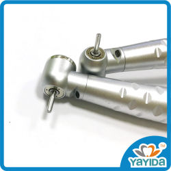 Botão de pressão com 6 orifícios 3 Luz de fibra óptica de Spray de Água Pega Dental com Acoplamento Rápido