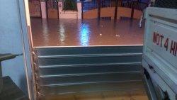 Bescherming tegen overstromingen voor gebruik door woningen en bedrijven