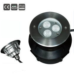 3With9W IP68は水プールライト付属品の下でLEDを防水する