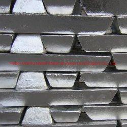 Mg 99,90% 99,95% lingote de alumínio de liga de lingotes de magnésio Fabricação