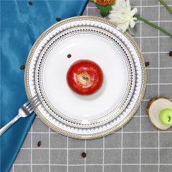 2020 neuer Ankunfts-Porzellan-Ware-großer Teller für täglichen Gebrauch