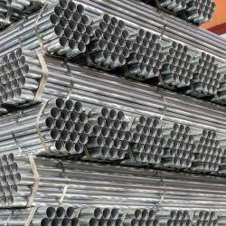 Kohlenstoff-rundes geschweißtes galvanisiertes Stahlrohr-Gefäß der Qualitäts-Q195 Q235