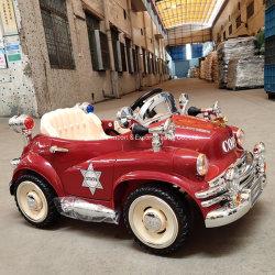 Los niños Four-Wheel del coche eléctrico coche Control Remoto de juguete puede sentarse en un coche clásico bebé con un columpio de bebé cochecito