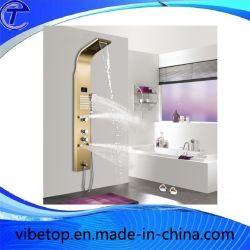 Датчик дождя и освещенности из нержавеющей стали и водопадом душем в ванной комнате есть душ опрыскивания из секции корпуса панели управления