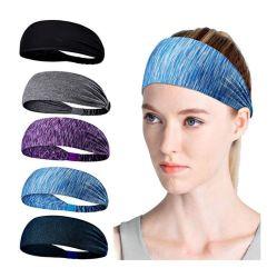 Accesorios para el pelo diadema de Gimnasia Deportes de Interior de la ejecución de las bandas de pelo elástico Yoga