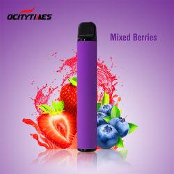 0 2% 5% نيكوتين Vape 800 Paveberry Blueberry E السجائر الإلكترونية السائلة القابلة للاستخدام مرة واحدة
