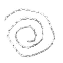 16*5*0,4 mm de metal de alta calidad de las cadenas de guillotina de acero niquelado