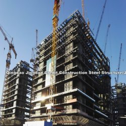 Grote Span Safety High Rise Prefab opslag stalen structuur frame Truss Fabrication Welding Fast Apartment Hotel Warehouse Workshop Bouw