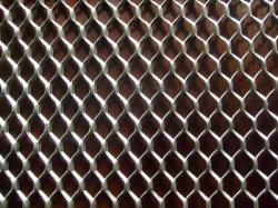 Rete metallica espansa in alluminio