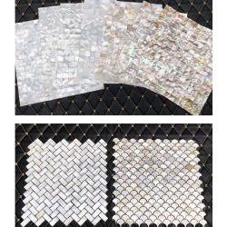 Mãe de decoração de Pearl Mosaico Shell (CONCHA)