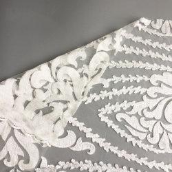 Neues Entwurfs-Form-Stickerei-Spitze-Gewebe für Dressing der Dame