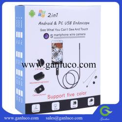 2 en 1 et Micro USB OTG Inspection Caméra d'endoscope