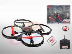 2.4GHz 4CH RC Quadcopter avec 6 Anxis Gyros et caméra