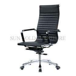 Foshan hoch rückseitiger PU-lederner Schwenker Eamas Büro-Büro-Stuhl