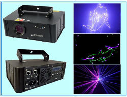 750 MW RGB Full Color Animation Disco Stage Laser Light SD Kaart