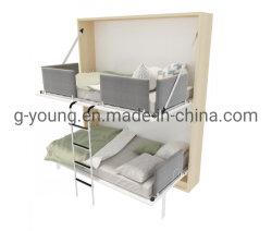 Novo Design Compacto cama Murphy beliche para mobiliário de hotel