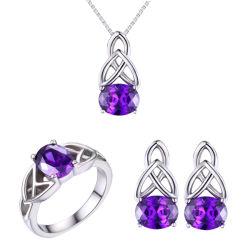 925のスライバAAA CZダイヤモンド指輪