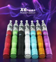 Электронные сигареты X6 V2 бака подъемом Clearomizer 1300 Мач E Cig с Zippe случае красочные E прикуривателя X6 Starter Mod комплекты