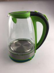 Новый 1,8 л зеленый автоматической крышкой всплывающие стекла электрический чайник